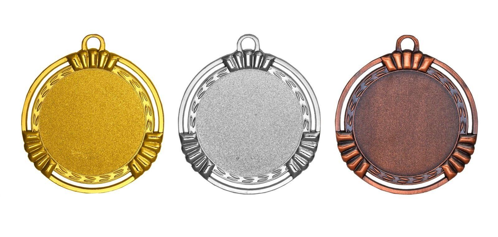 100x MEDAGLIA pulito pulito pulito designlibera scelta del ColoreeeeeeIncl. emblemi e adesivo 62cd5a