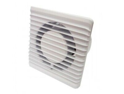 Bathroom Ceiling Extractor Fan 150mm with Timer Kitchen Toilet WC Ventilator