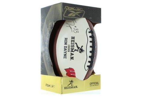 NEW Ron Dayne Wisconsin Badgers 1999 Reebok Heisman Limited Edition Football