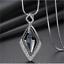 Damen-Halskette-mit-Anhaenger-Silber-lange-Kette-Schmuck-Geschenk-Weihnachten Indexbild 5