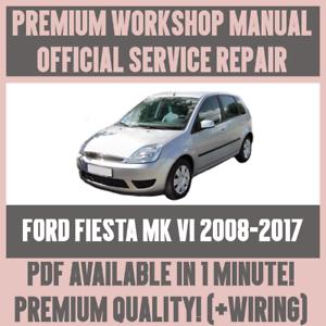workshop manual service repair guide for ford fiesta mk vi 2008 rh ebay co uk 2018 Ford Fiesta ford fiesta mk5 service manual