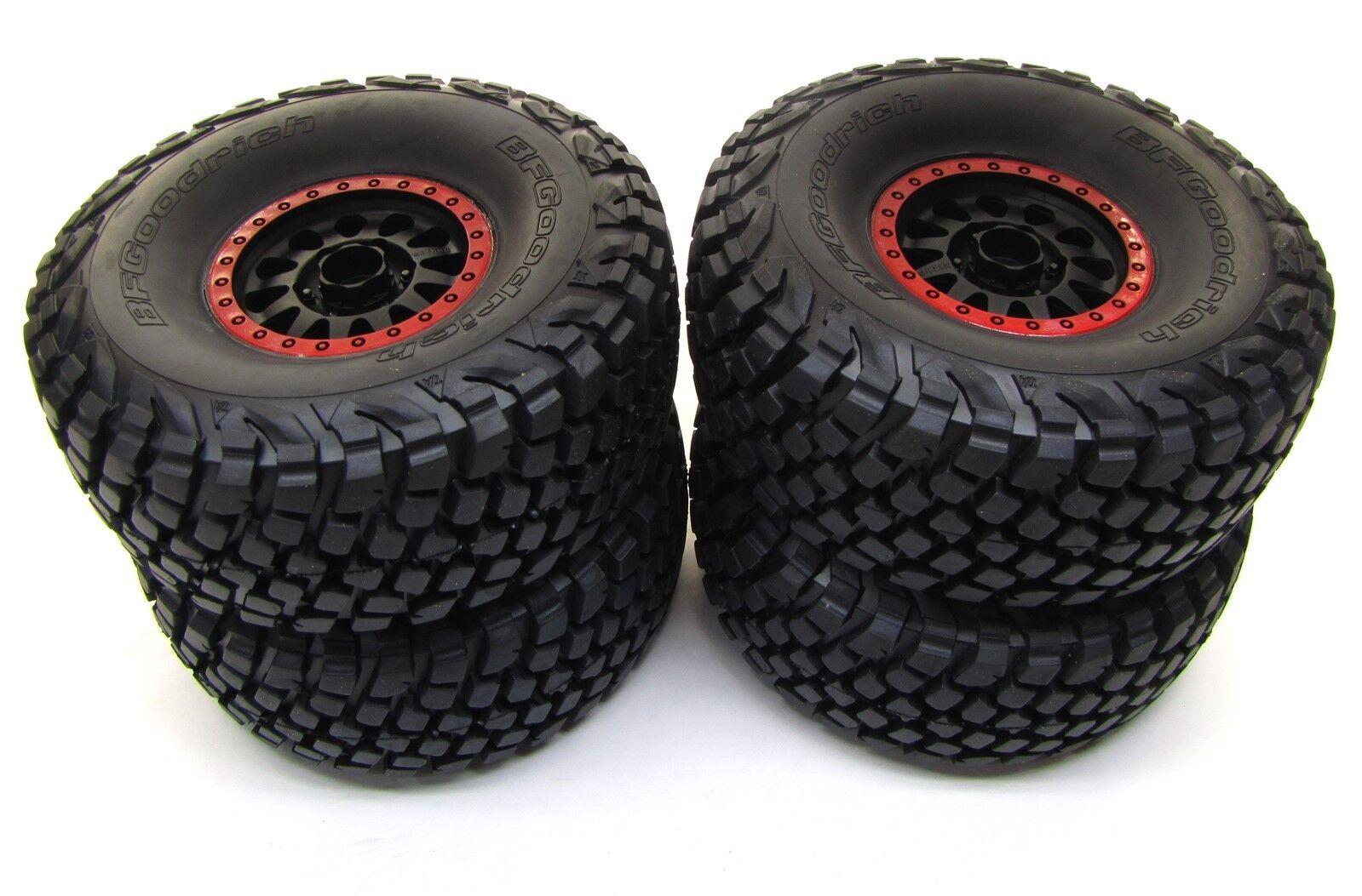 Unlimited Desert Racer Regimiento-Neumáticos & Ruedas (Rojo) Baja KR3 pegado Traxxas 85076-4
