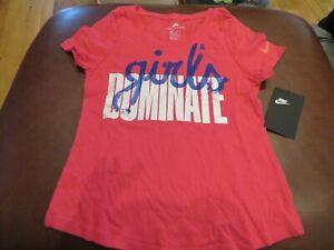 NWT Girls Pink \u0026 Blue Nike Shirt, Size