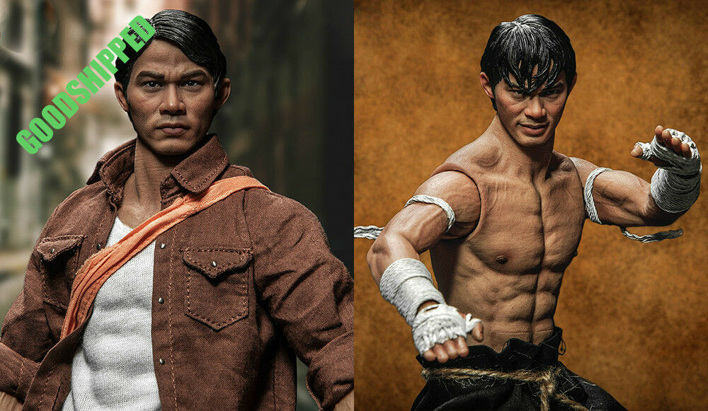 STORM TOYS ONG-BAK THAI WARRIOR ONG BAK TONY JAA TING DELUXE + EXTRA BODY NEW