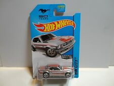 2014 Hot Wheels #93 Zamac '67 Ford Mustang Coupe w/5 Spoke Wheels