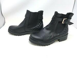 Womens Totes Maggie Black Waterproof Winter Boots 60854 428N