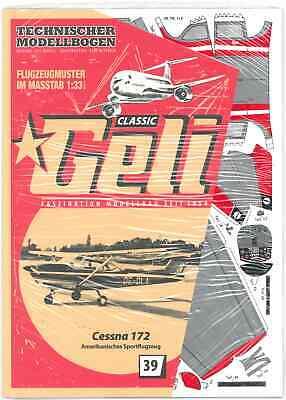 Modellbausatz GELI Classic Nr 71 Fokker EIII Jagdflugzeug 1915-1916   Tech