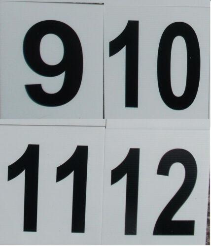 Montre Jump numéro Marqueurs pour la formation circuit ou Arena Grande Résistante Grade