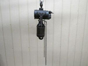 ARO-Ingersoll-Rand-Pneumatic-Air-Chain-Hoist-6-039-Lift-1-2-Ton-1-4-Ton