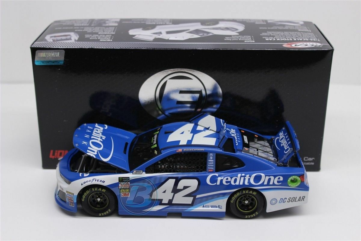 2018 KYLE LARSON  42 CREDIT ONE ELITE 1 24 CHEVY CAMARO 1 24 NEW FREE SHIPPING