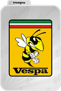 1-Adesivo-Sticker-PIAGGIO-Stemma-emblema-badge-Vespa-Old-introvabile