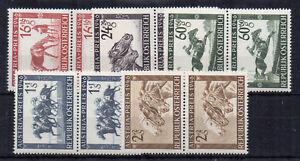 Austria-1946-Austria-Prize-Race-Fund-MHN-pairs