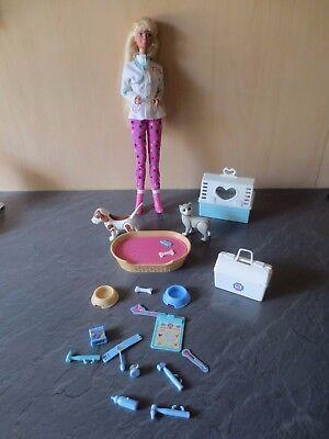 +++ Barbie Come Un Animale Dottoressa Con Sound Barbie Pet Doctor Rarità +++-mostra Il Titolo Originale