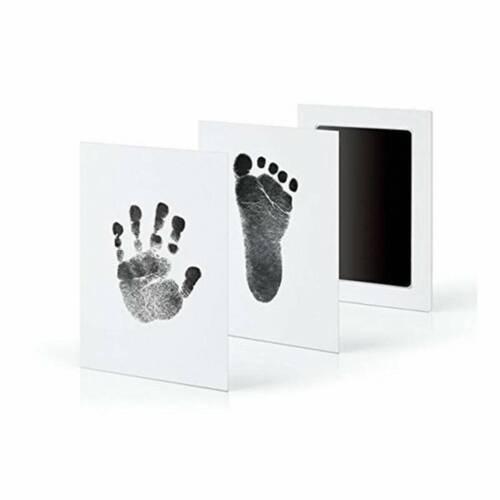 Infants Newborn DIY Imprint Clean Touch Ink Pad Photo Handprint Footprint Kits