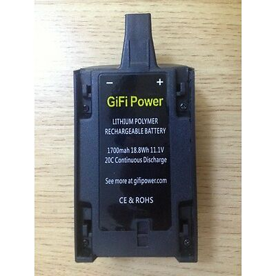 NEW AFTERMARKET BATTERY FOR PARROT BEBOP 3.0  HELICOPTER QUADCOPTER 1700MAH