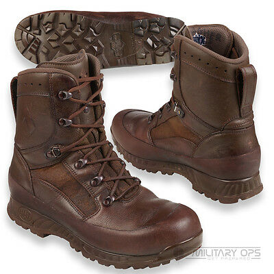 BRITISH ARMY ISSUE HAIX COMBAT BOOTS MOD BROWN PATROL ASSAULT MILITARY