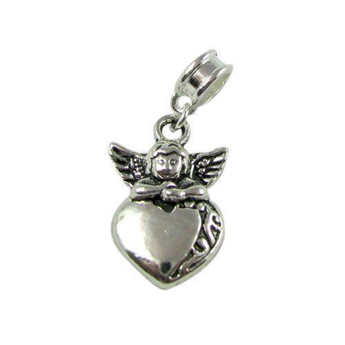 Universal Guardian Angel Heart Charm