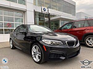 2016 BMW Série 2 228i xDrive Interieur Blanc, 24 000KM! Toit Ouvran