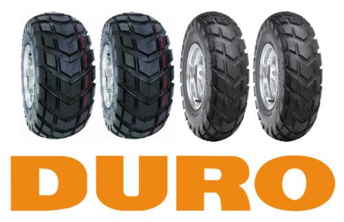 4x Quad Reifen Duro HF-247  19x7-8 /& 18x9.5-8 Reifensatz Straßenreifen 18x9,50-8