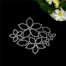 8pcs Flower Set Metal Cutting Dies For DIY Scrapbooking Album Paper Cards AAA