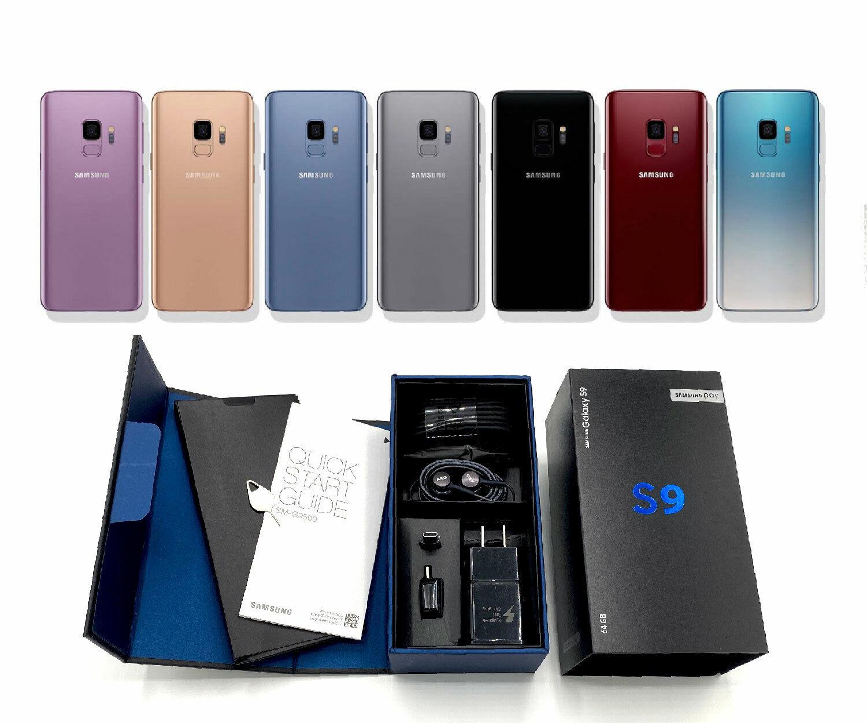 UNUSED Samsung Galaxy S9 64GB CDMA GSM Verizon T-Mobile Sprint Factory Unlocked