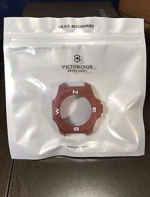 Straightforward Victorinox Inox Watch Compass Bumper Protector Red V60021 Firm In Structure Watches, Parts & Accessories