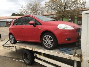 Fiat-Punto-2008-boot-catch-BREAKING-WHOLE-CAR-FOR-SPARES