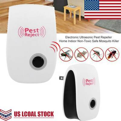 Ultrasonic Pest Reject Electronic Magnetic Repeller Anti Mosquito Insect Killer