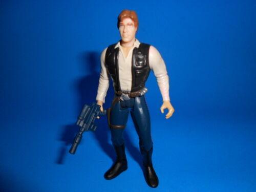 STAR WARS 1997 POTF style vintage Han Solo Jabba le Hutt ~ Deluxe Version