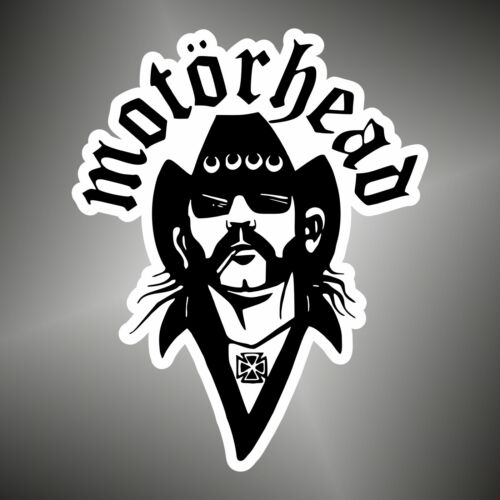 Sticker Lemmy Kilmister Motorhead  hard POP PUNK Aufkleber