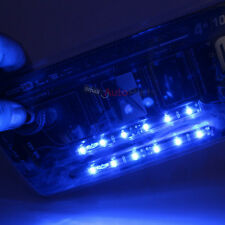 "2x 4"" 10cm Blue Bright LED Flexible 12V Car Headlight Waterproof Light Strips"