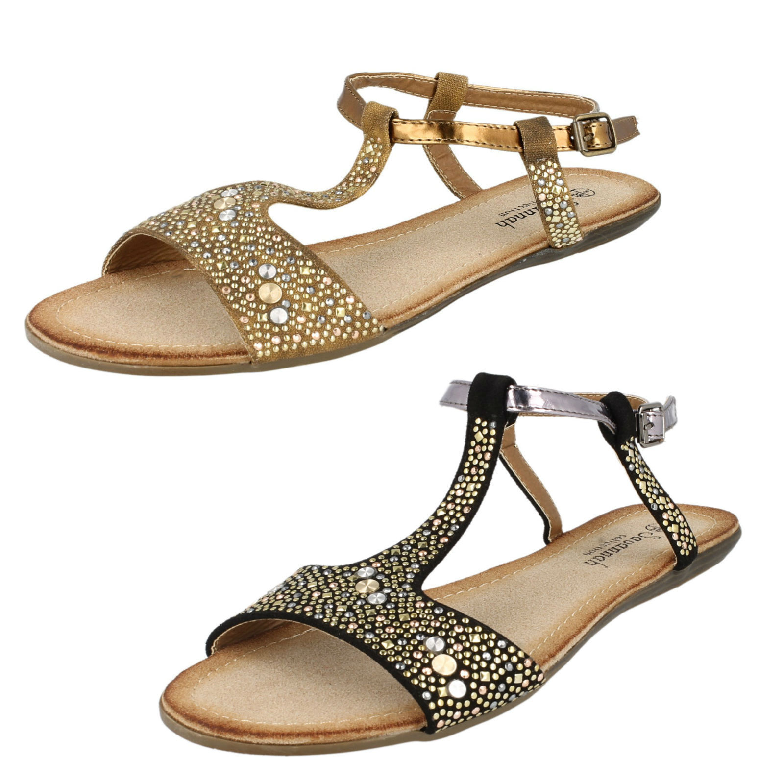 Ladies F0771 synthetic Collection sandal by Savannah Collection synthetic Retail price 410aeb