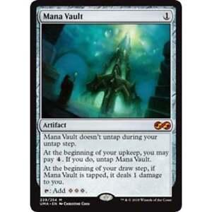 MTG Mana Vault 4th x1  SP see image!!!