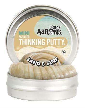 Crazy Aaron/'s Thinking Putty Sand /& Surf Scented Mini Tin