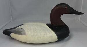 Antique-Carved-amp-Painted-Duck-Decoy-No-Signature