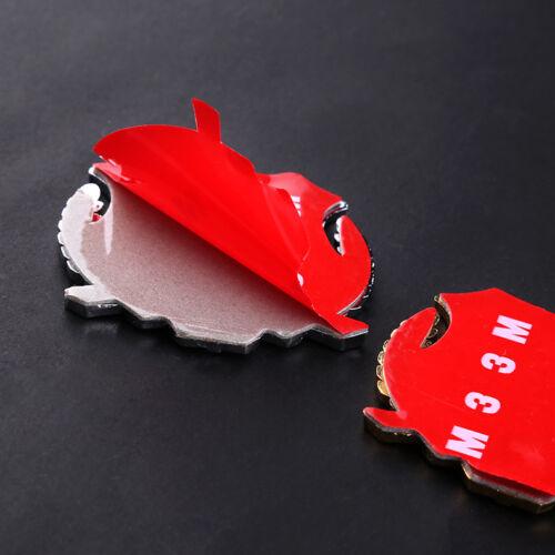 1x 3D Car Side Metal Badge Car Emblem Car Decal Sticker Fit  For Cadillac auto