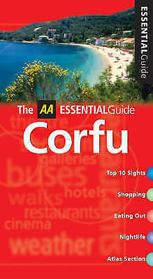 """AS NEW"" AA Essential Corfu (AA Essential Guide), Hannigan, Des, Book"