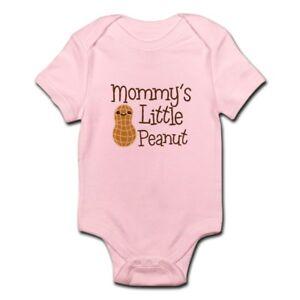 CafePress-Mommy-039-s-Little-Peanut-Body-Suit-Baby-Bodysuit-1472978239