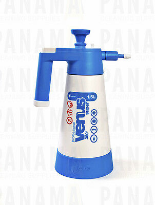Kwazar White/ Blue Venus Super Pump up Sprayer V.Seals 1.5ltr (SPRAYERVENUS1.5B)