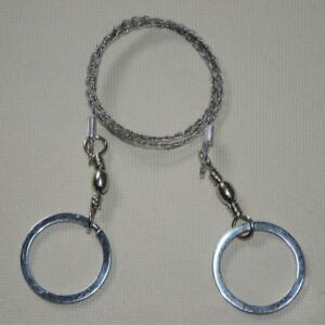 Outdoor Wire Saw Ring Scroll Chainsaw Hand Rope Chain Emergency Survival MP