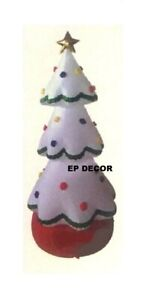 20 FOOT CHRISTMAS TREE WHITE LIGHTED AIRBLOWN INFLATABLE ...