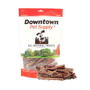 USA Bully Stick Bites Chew Meaty Bits Treats, All Natural Free Range Beef, USDA