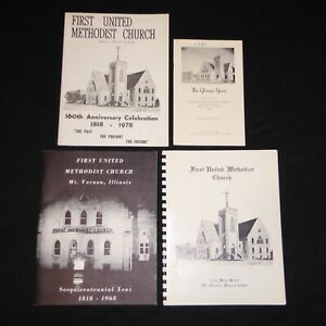 4-1968-78-1st-METHODIST-CHURCH-MT-VERNON-IL-YEARBOOKS-DIRECTORY-PHOTOS-ADDRESS