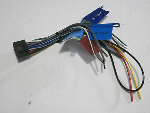 ORIGINAL KENWOOD KMM-BT308 WIRE HARNESS KMMBT308 NEW OEM G