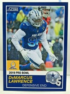 DeMarcus Lawrence 2018 Panini Instant  26 NFL 2019 Pro Bowl Score SP ... 1d6dc3eaa