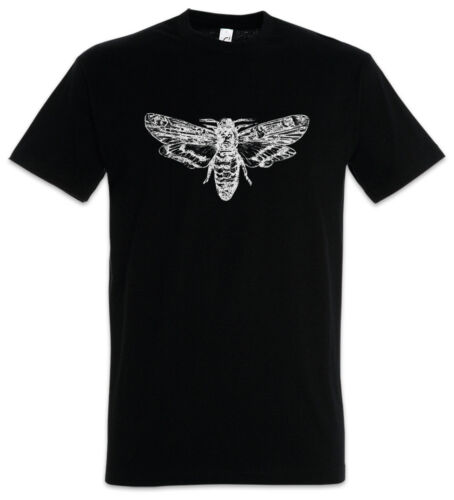 MOTH T-SHIRT Insect Insects Entomology Zoology Science Black White Mothman