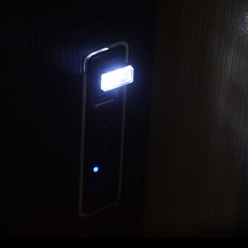 2Pcs Flexible mini usb led light colorful lamp for car atmosphere lamp bri LL