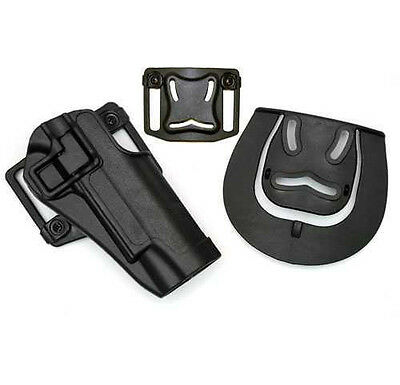 Quick Tactical Right Hand Paddle Pistol Holster for Glock 17 19 22 23 31 32