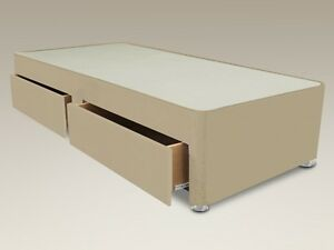 Single Divan Bed Base With Storage Options 3ft 3ft Single Base Only