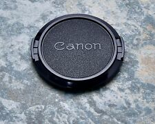 Retro Genuine Canon FD C 52mm Snap-On Front Lens Cap 50mm 1.8 (#1402)